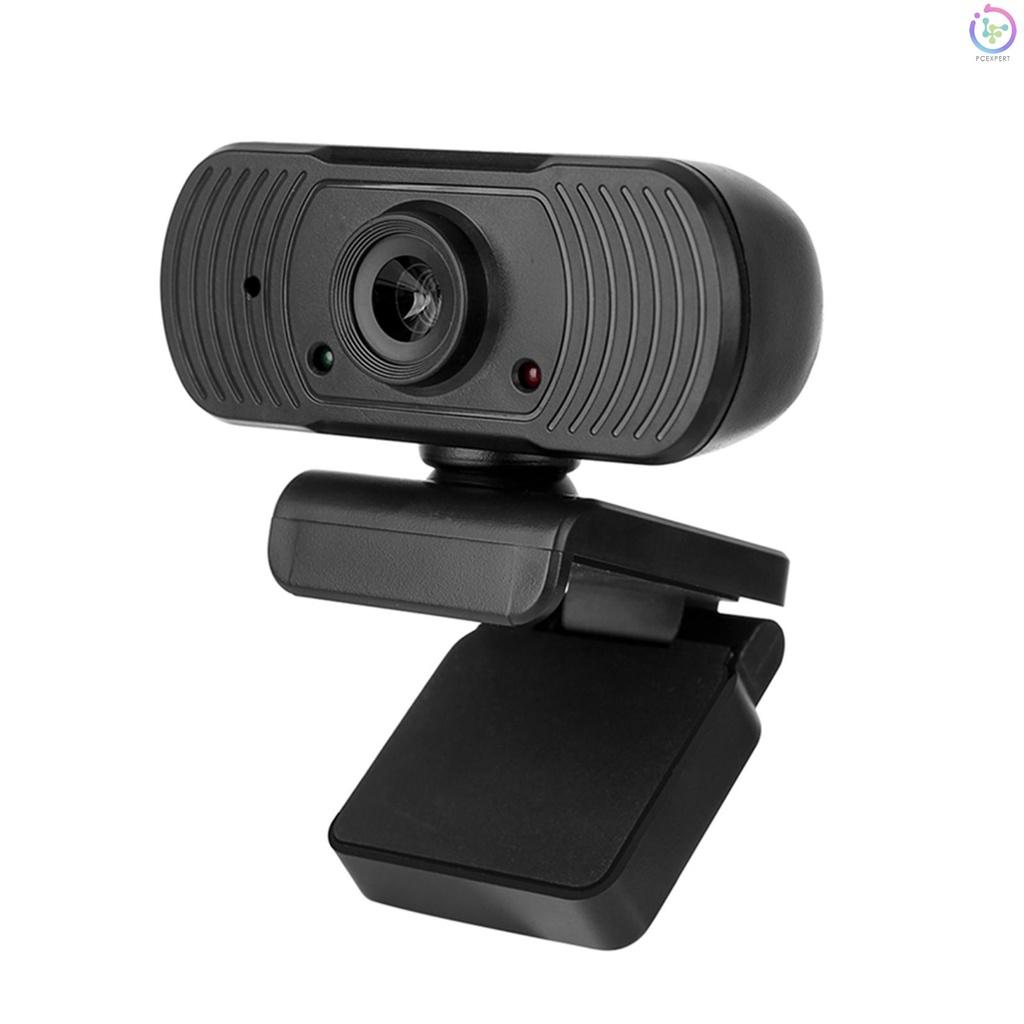 Webcam Usb 2.0 Độ Phân Giải Cao 1080p Tích Hợp Micro Có Chân Đế Kẹp Tiện Dụng Cho Laptop / Pc