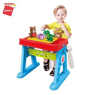 Bộ Ghép Hình Lego QMAN 2904 Bàn Xếp Hình ⚜️ FREESHIP ⚜️ Đồ Chơi Xếp Hình Cho Trẻ Em Con Nít Bé Yêu Lắp Ráp