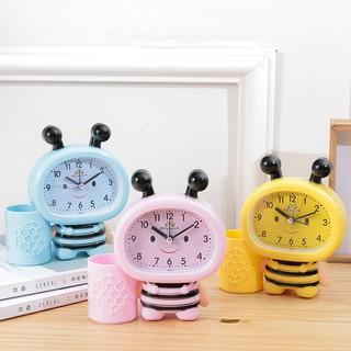 PVN21088 Đồng hồ con ong kèm ống cắm bút xinh xinh cho bé T2
