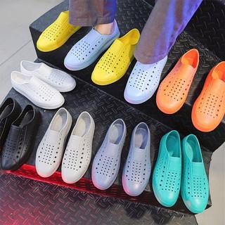 Giày nhựa đi mưa, đi biển chất liệu nhựa xốp dẻo siêu nhẹ, nhiều màu GU2 thumbnail