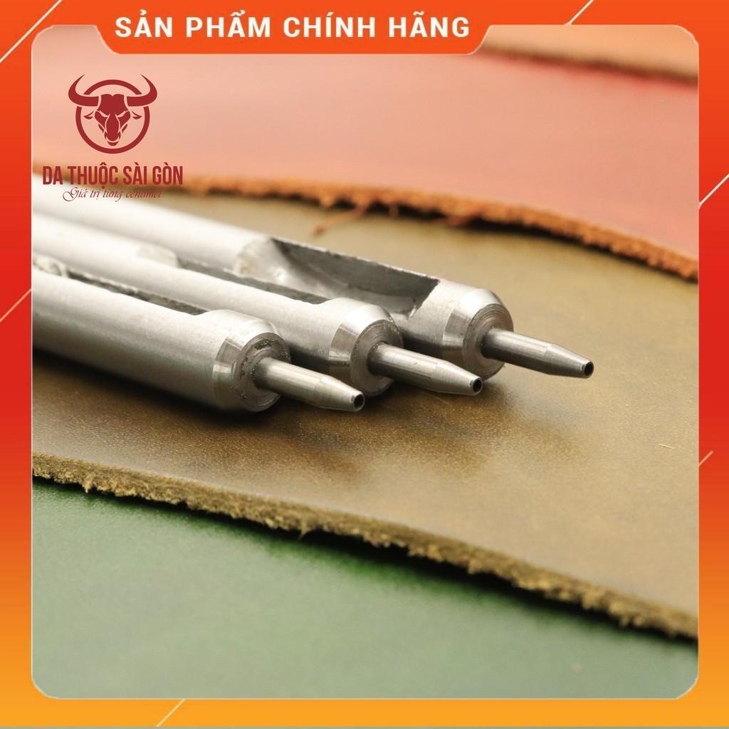 Đục lỗ Tròn Cao Cấp Loại 1mm Dụng Cụ Làm Đồ Da Thủ Công Không Thể Thiếu - Da Thuộc Sài Gòn