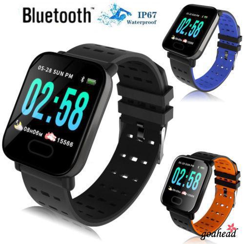 Đồng hồ thông minh chống nước có chức năng theo dõi nhịp tim
