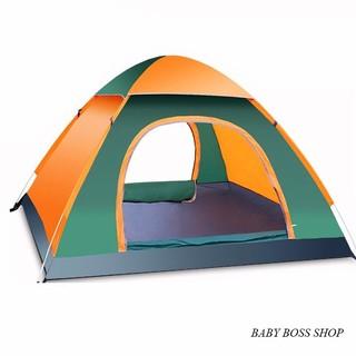 Lều cắm trại dã ngoại tự bung 4-6 người chống tia tử ngoại 2m*2m*1m35