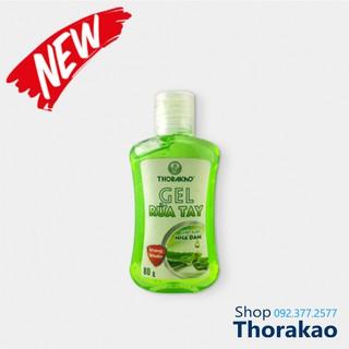 Gel rửa tay khô kháng khuẩn 80g Thorakao - Chiết xuất nha đam thumbnail