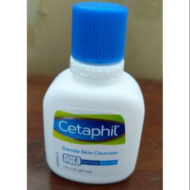 Sữa Rửa Mặt Cetaphil Hàng Sample 29ml