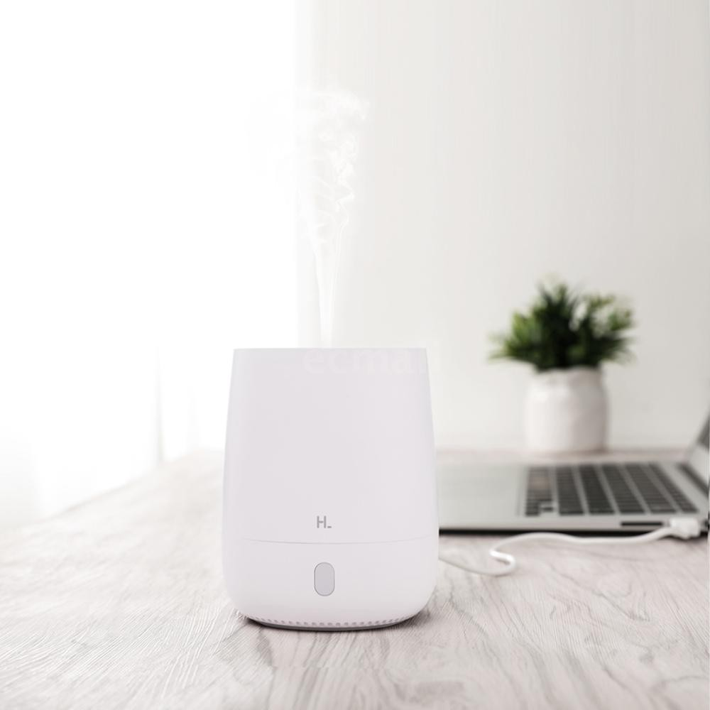 Ecmall Xiaomi HL Mini Air Aromatherapy Diffuser Portable USB Humidifier Quiet Aroma Mist Maker with