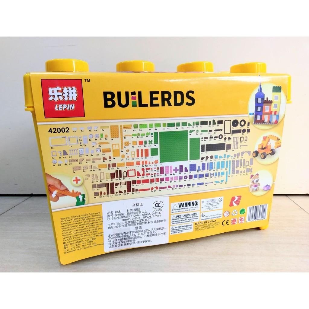 Xếp hình tự do BUILERDS - LEPIN 42002 (885 chi tiết)