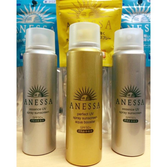 Follow shop 26/06 Kem chống nắng Shiseido Anessa perfect UV Spray Sunscreen Aqua Booster SPF50+/PA++