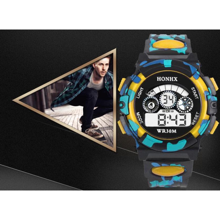 Đồng hồ điện tử nam nữ Honhx HX06 độc đáo, kiểu dáng thể thao cá tính
