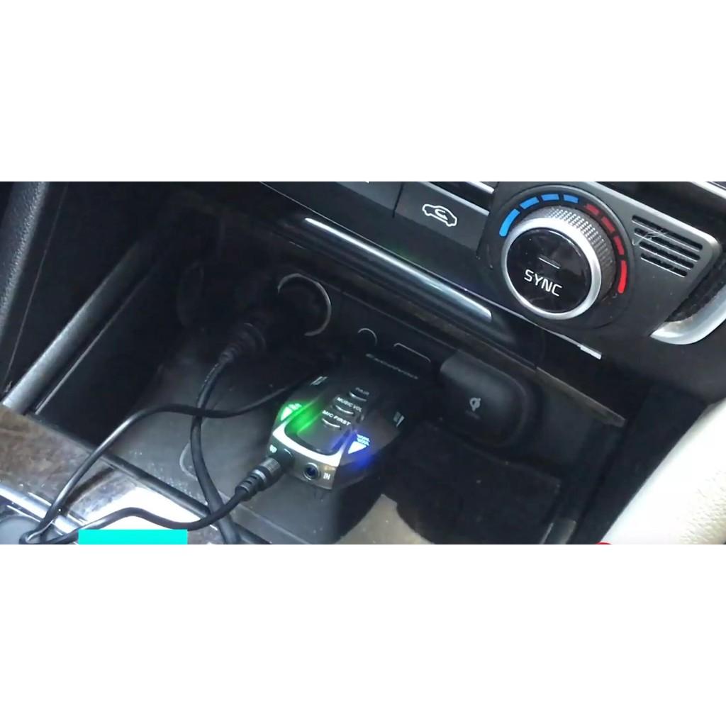 Micro Không Dây Có Echo và Bluetooth K18V, Dùng Cho OTO, Loa Bluetooth -  Dàn âm thanh