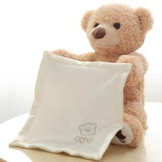 Gấu teddy biết chơi ú oà với bé