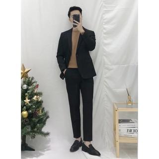 Bộ Vest nam Hàn Quốc, vest nam phong cách ôm body