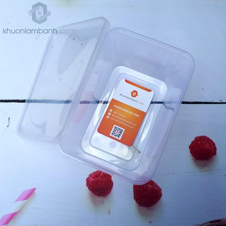 Bộ 10 hộp nhựa đựng thực phẩm 1000ml