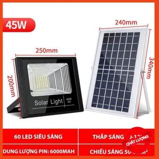 Đèn Năng Lượng Mặt Trời 45W, Solar Light 45W – Đèn LED chiếu sáng đường công suất cao