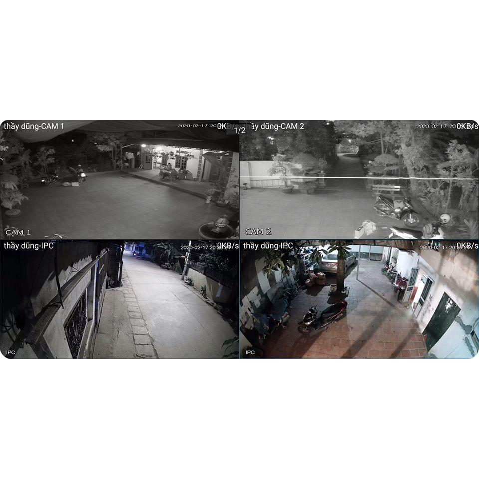 [ Xả Kho ] Camera gia đình Hikvision HILOOK IPC-P220-D/W 1080P , Đàm thoại 2 chiều , Cảm biến theo dõi chuyển động