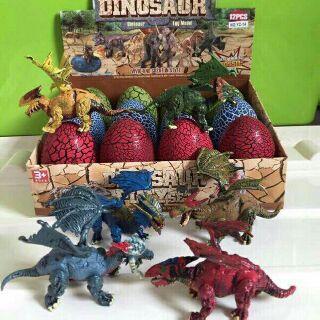 Đồ chơi: Combo 5 trứng khủng long
