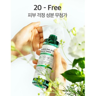Combo Toner + Serum Some By Mi AHA-BHA-PHA 30 Days Miracle Fullsize 3