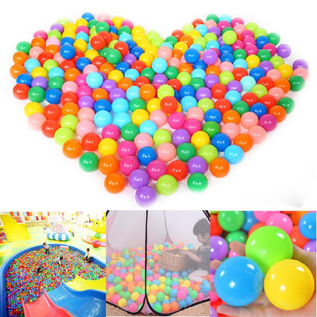 Plastic Kids / Soft 5 Colorful Playing Set Ball 100pcs/Set Funny 5cm Baby 4cm Tool Ocean