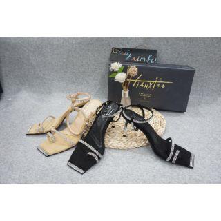 Sandal cao gót- Quảng Châu- Full box SC16 ( Hình+ Clip Thật)