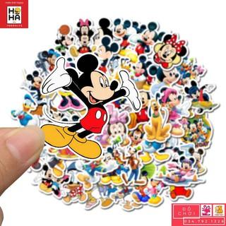 Sticker PVC Hoạt Hình – Hình dán Đồ chơi cho trẻ em Bộ 50 Hình STHA077