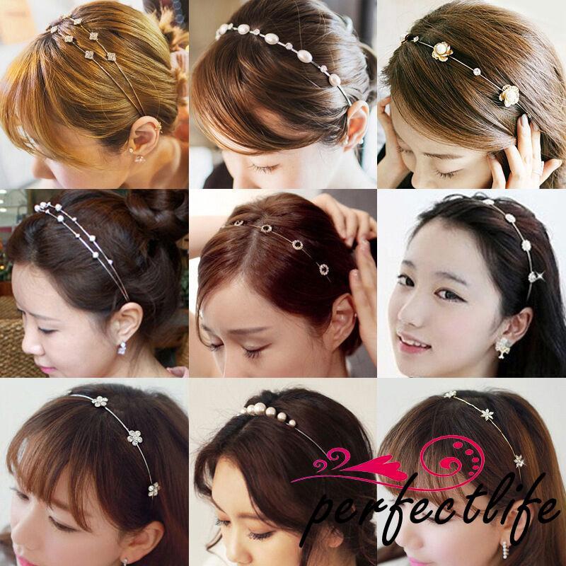 Cài tóc kim loại đính đá thời trang cho nữ