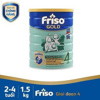 (HCM) Sữa bột Frisolac Gold 4 lon 1500g