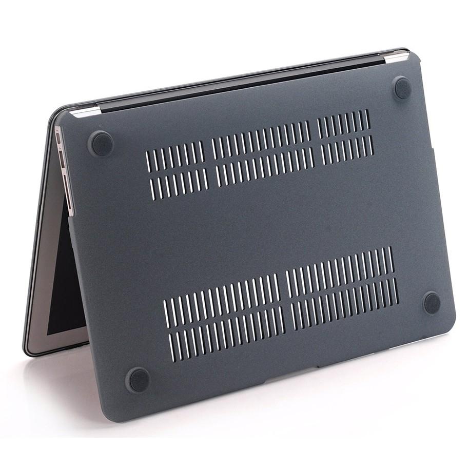 Case ,Ốp Macbook Màu Xám Đủ Dòng (Tặng Kèm Nút Chống Bụi )