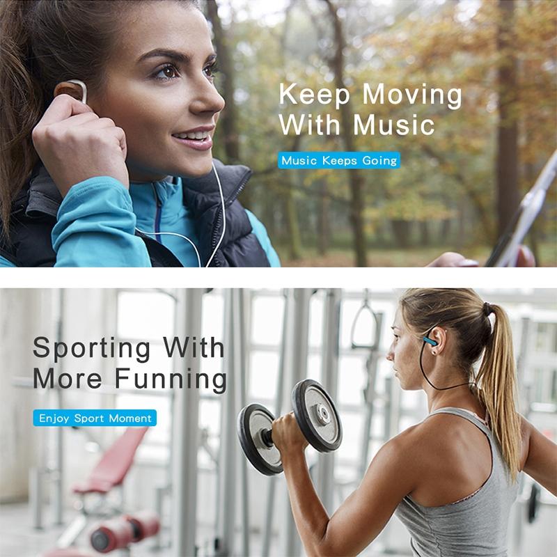 Tai nghe đeo vành tai jack cắm 3.5mm kiểu dáng thể thao
