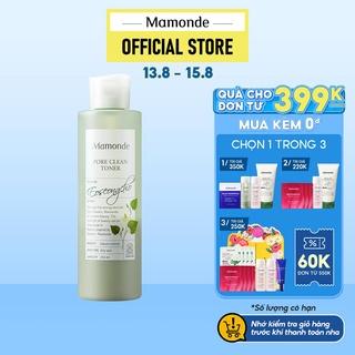 Nước cân bằng làm sạch và cung cấp độ ẩm Mamonde Toner 250ml