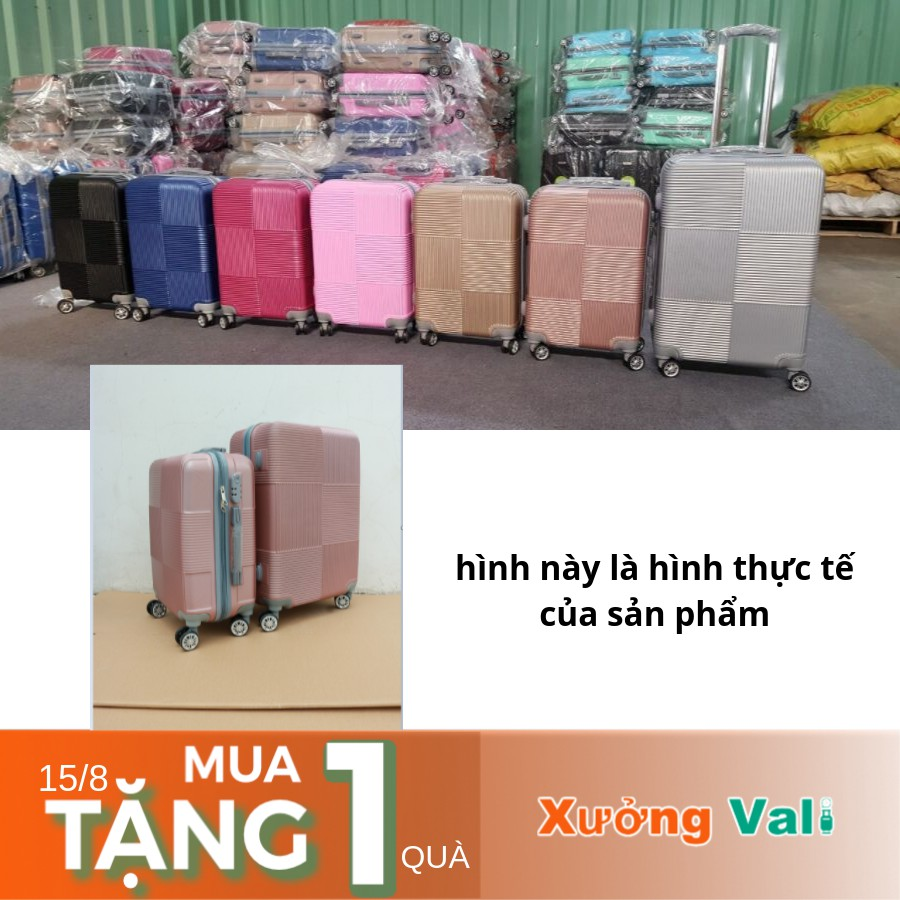 [HCM] Vali giá xưởng size 24 -bán được nhiều là nhờ chất lượng