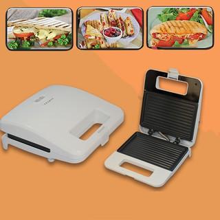 Máy Kẹp Nướng Bánh Mì, Ép Bánh Sandwich, Rán Trứng, Làm Đồ Ăn Sáng, Nướng Thịt 2 Mặt Đa Năng