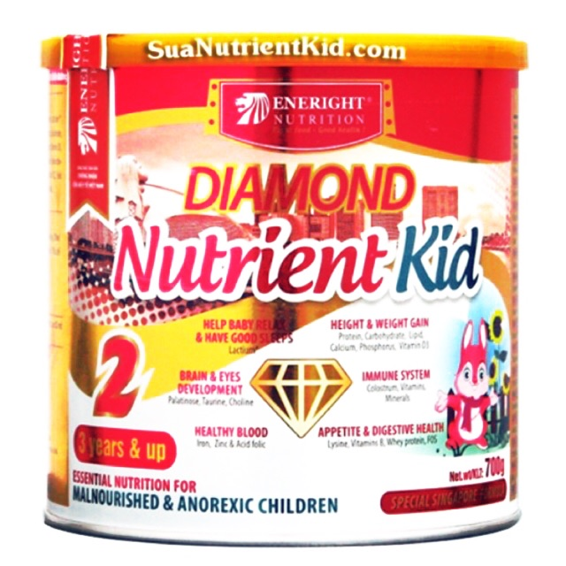 Sữa Diamond Nutrient kid 2 ( 700g)