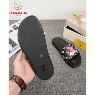 Original Lv Peppa Pig Louis Vuitton Sandals Slippers Shoes