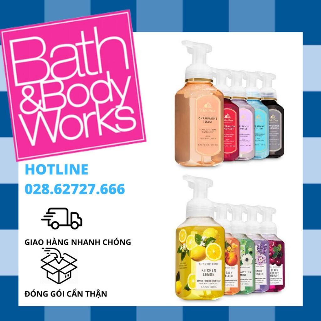 Xà phòng rửa tay Bath and Body Works (các mùi)