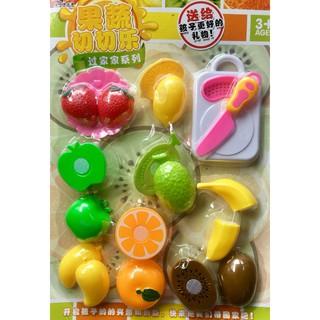 [HOT]Đồ chơi cắt hoa quả nhựa 19 chi tiết dành cho bé – Toca Toys