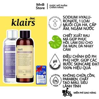 Nước Hoa Hồng Klairs Supple Preparation Toner không cồn, không hương liệu, không mùi 180ml - MnB Store thumbnail