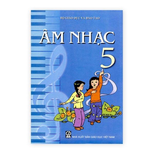 Sách - Âm Nhạc Lớp 5 - 9786040136824