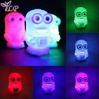 2016 toy Color Changing Colorful Night Light Lamp 2 Figure for Child girls Toy