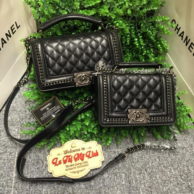 Túi Chanel boy viền xích - 10073589 , 436656703 , 322_436656703 , 520000 , Tui-Chanel-boy-vien-xich-322_436656703 , shopee.vn , Túi Chanel boy viền xích
