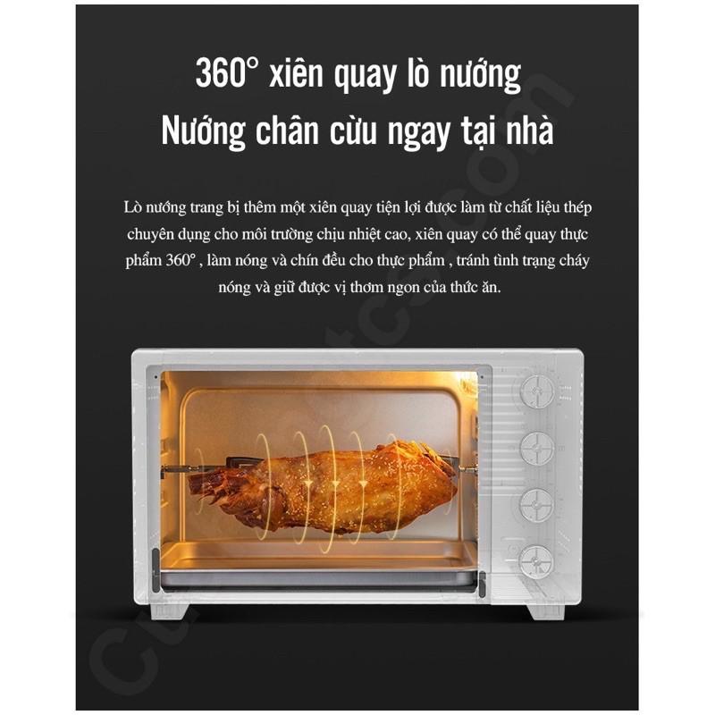 [Mã 208ELSALE hoàn 7% đơn 300K] Lò nướng điện Xiaomi Mijia Oven 32L XDE1