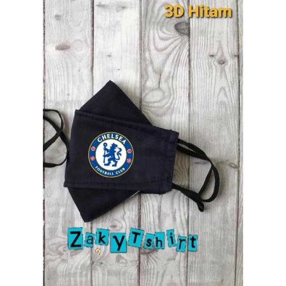 Mặt nạ cao su Chelsea 3D 2 lớp