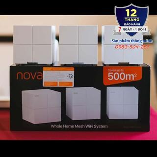 Bộ 3 Cục Wifi Mesh không dây Tenda Nova MW6 – Ghép nối nhiều thiết bị cùng 1 tên wifi