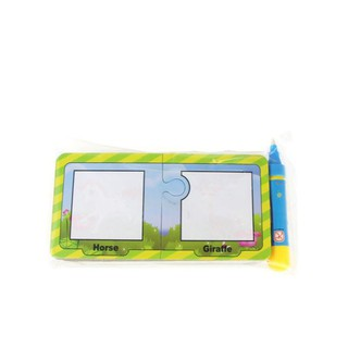 Magic Drawing Graffiti Animals Card with 1 Magic Pen Cognitive Painting Board