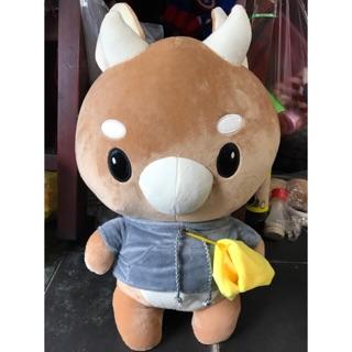 Bò Chăm Chỉ(60cm),Lông Mịn,Gòn💯,Hàng Có Sẵn & Hình Chụp Thật Tại Shop