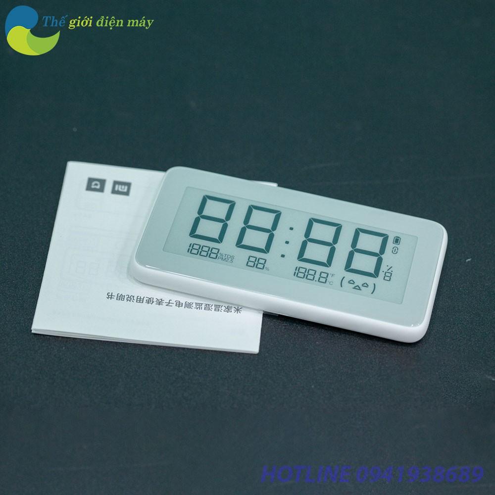 Đồng hồ tích hợp ẩm kế thông minh Xiaomi Mijia Pro - Bảo hành 1 tháng - Shop Thế Giới Điện Máy