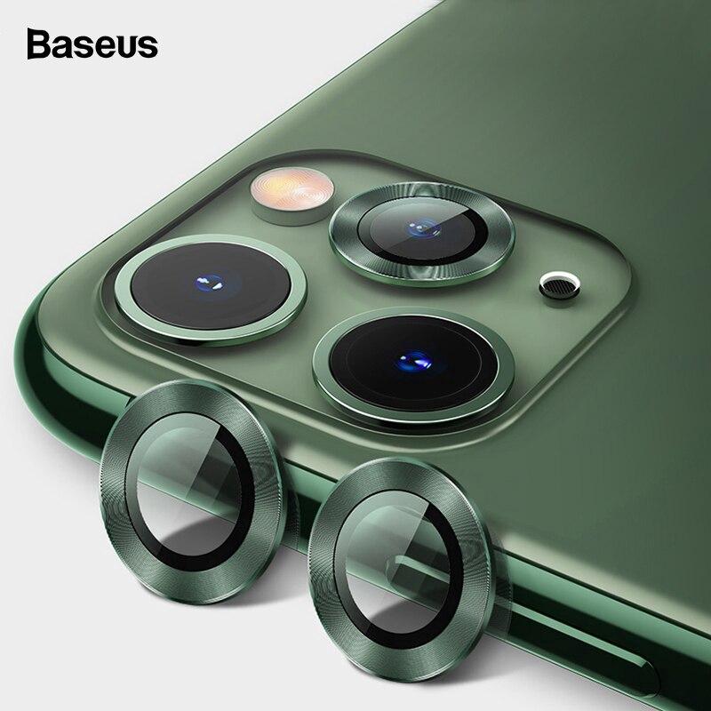 Kính cường lực Baseus bảo vệ ống kính camera sau cho IPhone 11 Pro/11 Pro Max