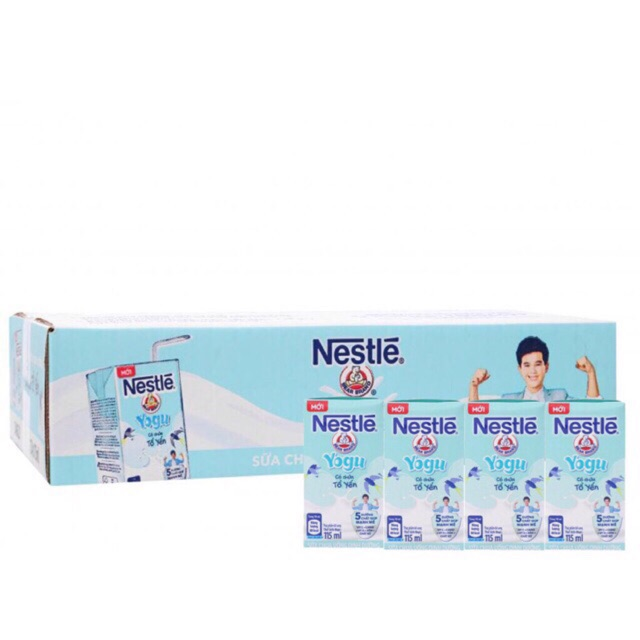 Thùng Sữa chua uống dinh dưỡng Nestlé YOGU 48x115 ml...... - 15079960 , 2826473512 , 322_2826473512 , 235000 , Thung-Sua-chua-uong-dinh-duong-Nestle-YOGU-48x115-ml......-322_2826473512 , shopee.vn , Thùng Sữa chua uống dinh dưỡng Nestlé YOGU 48x115 ml......
