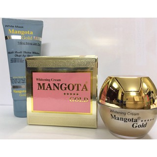 Kem dưỡng trắng da Mangota Gold - Bạch Ngọc Liên mờ nám, tàn nhang thumbnail