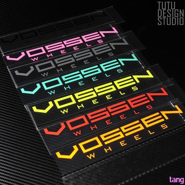 - Hellaflush style CV3 CV4 Watson wheel Reflective stickers Car stickers