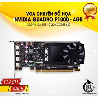 Card Màn Hình NVDIA Quadro P1000 4Gb D5-128bits - Hàng Tháo Máy Trạm thumbnail